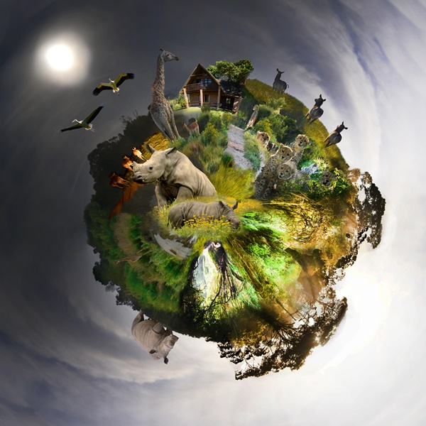 Kragga Kamma Tiny Planet