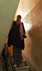Sue Hoppe in Jordan