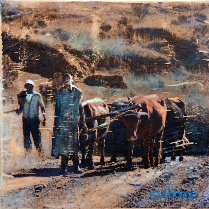 people and cattle