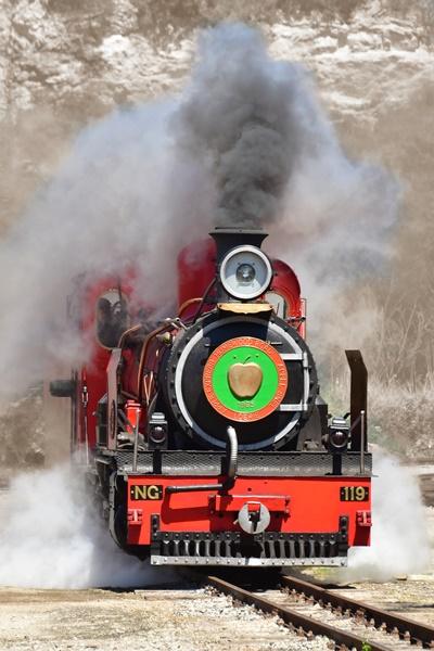 Apple Express Steam Train