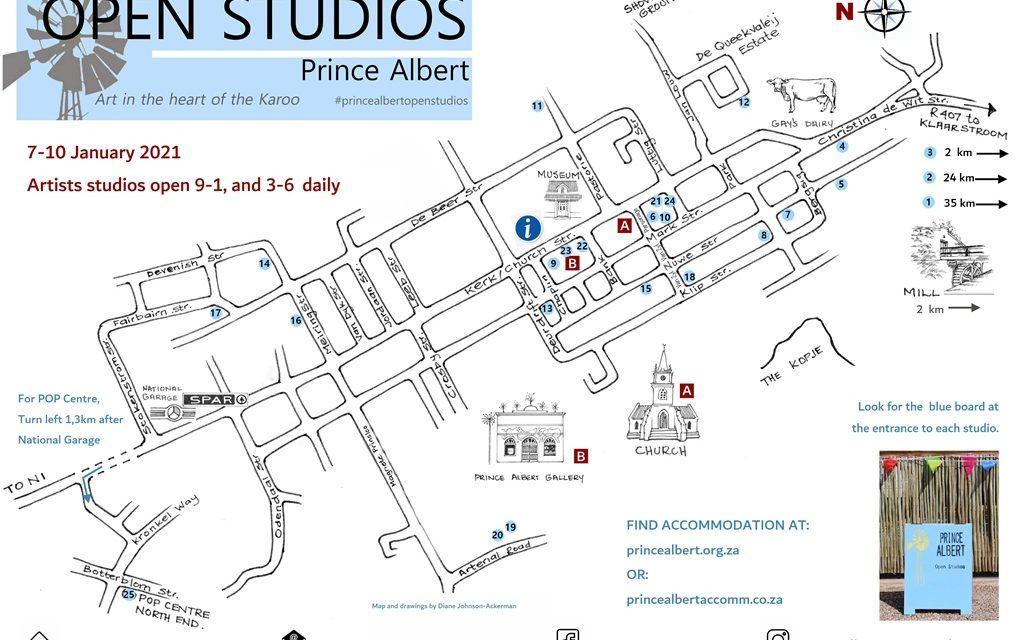 Prince Albert Open Studios: january 7-10 2021
