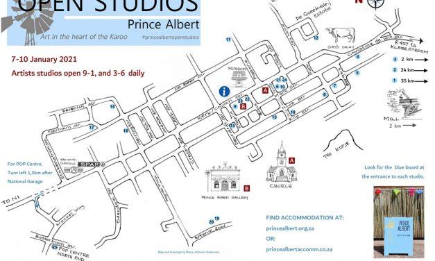 Prince Albert Open Studios: january 7-10 2021